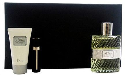 Dior Eau Sauvage - Duftset (Eau de Toilette/100ml + Duschgel/50ml + Eau de Toilette/3ml) — Bild N1