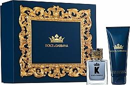 Düfte, Parfümerie und Kosmetik Dolce & Gabbana K by Dolce & Gabbana - Duftset (Eau de Toilette 50ml + After Shave Balsam 75ml)