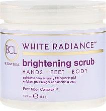 Düfte, Parfümerie und Kosmetik Aufhellendes Körperpeeling - BCL SPA White Radiance Brightening Scrub