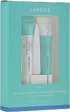 Düfte, Parfümerie und Kosmetik Gesichtspflegeset - Laneige Mini Pore Heating & Clean Duo (Porenreinigende Gesichtsmaske 15ml + Gesichtsgel 15ml)