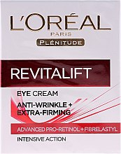 Düfte, Parfümerie und Kosmetik Augenkonturcreme - L'Oreal Paris Revitalift