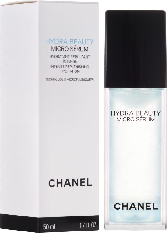 Feuchtigkeitsspendendes Gesichtsserum - Chanel Hydra Beauty Micro Serum — Bild N1