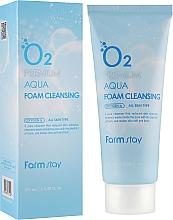 Düfte, Parfümerie und Kosmetik Sauerstoffschaum für alle Hauttypen - FarmStay O2 Premium Aqua Foam Cleansing