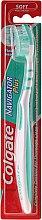 Düfte, Parfümerie und Kosmetik Zahnbürste weich Navigator Plus grün-weiß - Colgate Navigator Plus Soft