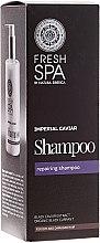 Düfte, Parfümerie und Kosmetik Reparierendes Shampoo mit schwarzem Kaviar-Extrakt - Natura Siberica Fresh Spa Imperial Caviar Shampoo