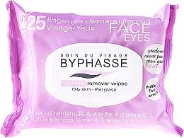 Düfte, Parfümerie und Kosmetik Make-up-Entfernungstücher 25 St. - Byphasse Make-up Remover Hazel Water & Orange Blossom Wipes
