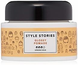 Düfte, Parfümerie und Kosmetik Haarpomade für mehr Glanz Starker Halt - Alfaparf Milano Style Stories Glossy Pomade Strong Hold