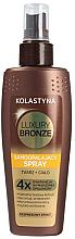 Düfte, Parfümerie und Kosmetik Bräunungsbeschleuniger für Gesicht und Körper - Kolastyna Luxury Bronze Tanning Spray