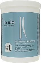 Düfte, Parfümerie und Kosmetik Aufhellungspulver für folienfreie Anwendungen - Londa Professional Blondes Unlimited Creative Lightening Powder