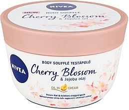 Düfte, Parfümerie und Kosmetik Körper-Soufflé mit Kirschblüten und Jojobaöl - Nivea Body Souffle Cherry Blossom & Jojoba Oil