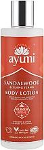 Düfte, Parfümerie und Kosmetik Körperlotion mit Sandelholz und Ylang-Ylang - Ayumi Sandalwood & Ylang Ylang Body Lotion