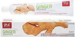 Düfte, Parfümerie und Kosmetik Wärmende Zahnpasta mit Ingwer und Sanddorn-Extrakt - Splat Special Ginger Warming Toothpaste