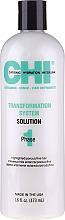 Düfte, Parfümerie und Kosmetik Glättende Behandlung für hellergefärbtes, poröses und feines Haar Phase 1, Formel C - CHI Transformation Solution Formula C