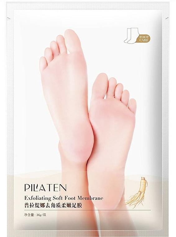 Exfolierende Fußmaske - Pilaten Exfoliating Soft Foot — Bild N1