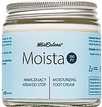 Fußpflegeset - MiaCalnea Moisturizing Foot Cream + 2X OAKIS (Feuchtigkeitsspendende Fußcreme 120ml + Accessoires 2St.) — Bild N2