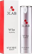 Düfte, Parfümerie und Kosmetik Aufhellende Augencreme - 3Lab M Eye Brightening Cream