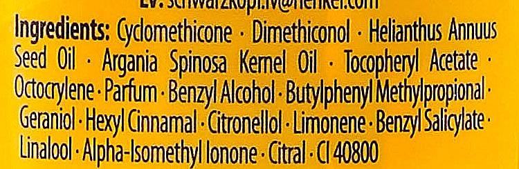 Tägliches Öl-Elixier für sehr geschädigtes und trockenes Haar - Schwarzkopf Gliss Kur Oil Nutritive Elixir — Bild N2