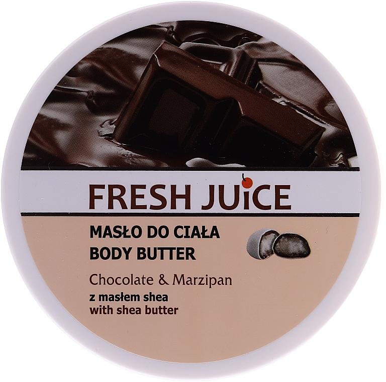Körperbutter Chocolate & Marzipan mit Sheabutter - Fresh Juice Body Butter Chocolate & Marzipan With Shea Butter