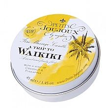 Düfte, Parfümerie und Kosmetik Massagekerze mit Pina Colada - Petits JouJoux Mini A Trip To Waikiki