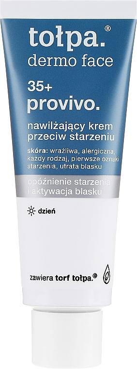 Feuchtigkeitsspendende Anti-Aging Tagescreme 35+ - Tolpa Provivo 35+ Moisturising Anti-Age Cream — Bild N2