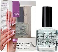 Düfte, Parfümerie und Kosmetik Nagelwachstumsaktivator mit Knoblauch - Czyste Piekno Garlic Nail Growth Activator