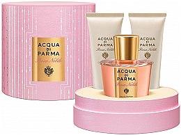 Düfte, Parfümerie und Kosmetik Acqua di Parma Rosa Nobile - Duftset (Eau de Cologne 100ml + Duschgel 75ml + Körpercreme 75ml)