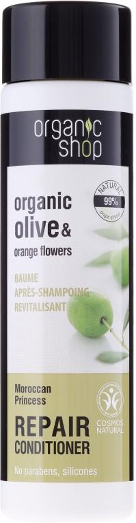 """Regenerierende Haarspülung """"Marokkanische Prinzessin"""" - Organic Shop Organic Olive and Argan Oil Repair Conditioner — Bild N1"""