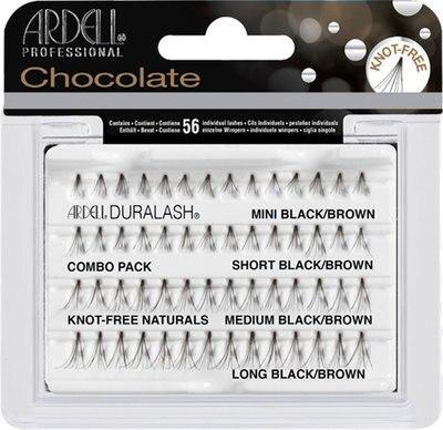 Wimpernbüschel-Set - Ardell Chocolate Knot-Free Combo Pack — Bild N1