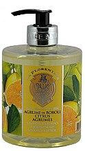 Düfte, Parfümerie und Kosmetik Flüssige Handseife mit Zitrusduft - La Florentina Boboli Citrus Liquid Hand Soap