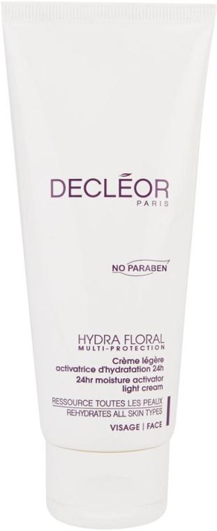 Leichte Feuchtigkeitscreme für das Gesicht - Decleor Hydra Floral 24hr Moisture Activator Light Cream (Salon Size) — Bild N1