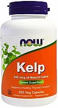 Düfte, Parfümerie und Kosmetik Nahrungsergänzungsmittel Kelp 325 µg - Now Foods Kelp