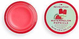 Lippenmaske-Balsam Wassermelonen-Eis am Stiel - I Heart Revolution Watermelon Popsicle Lip Mask & Balm — Bild N2