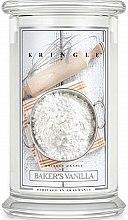 Düfte, Parfümerie und Kosmetik Duftkerze im Glas Baker's Vanilla - Kringle Candle Baker's Vanilla
