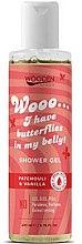 Düfte, Parfümerie und Kosmetik Duschgel mit Patschuli und Vanille - Wooden Spoon I Have Butterflies In My Belly Shower Gel