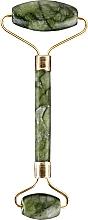 Düfte, Parfümerie und Kosmetik Gesichtsmassageroller aus Jade grün - Lewer