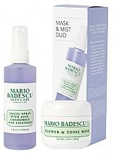 Düfte, Parfümerie und Kosmetik Gesichtspflegeset - Mario Badescu Lavender Mask & Mist Duo Set (Gesichtsmaske 56g + Gesichtsspray 118ml)