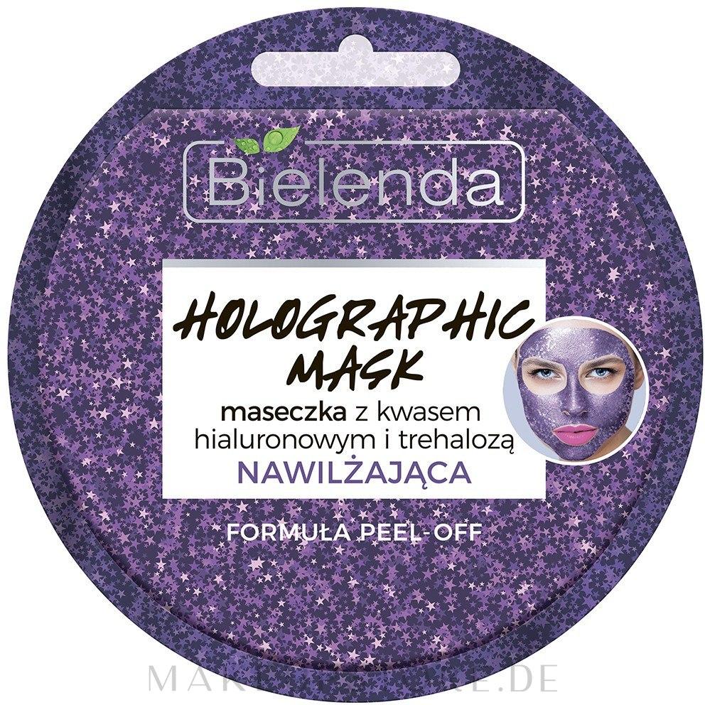 Gesichtsmaske mit Hyaluronsäure - Bielenda Holographic Mask Peel-Off — Bild 8 g