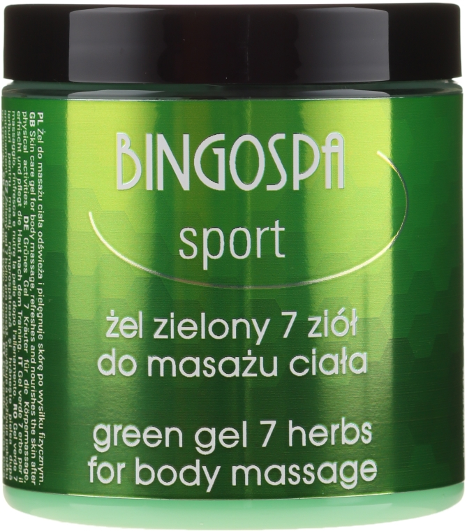 Körpermassagegel mit 7 Kräutern - BingoSpa Massage Gel With Seven Herbs — Bild N1
