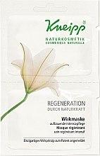 Düfte, Parfümerie und Kosmetik Regenerierende Wirkmaske für das Gesicht - Kneipp Regeneration Durch Naturkraft Wirkmaske