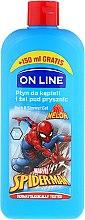 Düfte, Parfümerie und Kosmetik 2in1 Bade- und Duschgel für Kinder Spiderman - On Line Kids Shower Gel & Bath Foam