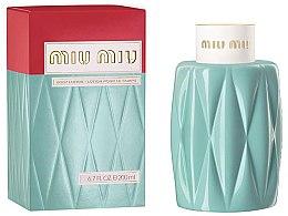 Düfte, Parfümerie und Kosmetik Miu Miu Miu Miu - Körperlotion
