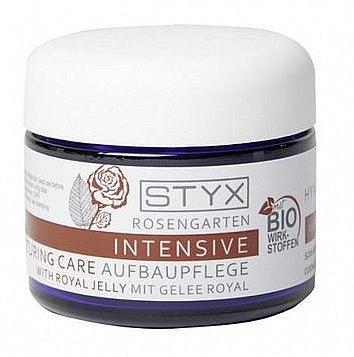 Intensiv regenerierende Gesichtscreme mit Gelée royale - Styx Naturcosmetic Rose Garden Intensive Restructuring Care (Probe) — Bild N1