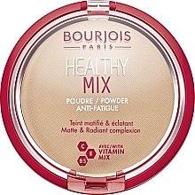Düfte, Parfümerie und Kosmetik Kompaktpuder gegen müde Haut mit Vitaminkomplex - Bourjois Healthy Mix Powder