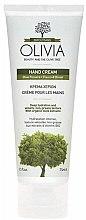 Düfte, Parfümerie und Kosmetik Hydratisierende Handcreme mit Olivenextrakt und Mandelöl - Olivia Beauty & The Olive Hand Cream