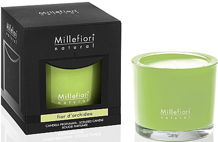 Duftkerze im Glas Fior d'Orchidea - Millefiori Milano Natural Candle Fior d'Orchidea — Bild N1