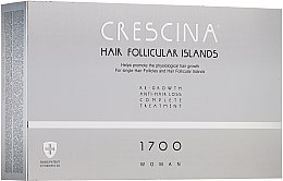 Düfte, Parfümerie und Kosmetik Anti-Haarausfall Ampullen für Frauen 1700 - Crescina Hair Follicular IslandRe-Growth+Anti-Hair Loss HFI 1700 Woman