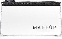 Düfte, Parfümerie und Kosmetik Kosmetiktasche Flat Glow transparent 20x10 cm - MakeUp