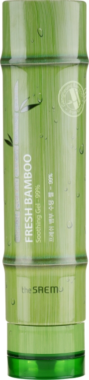 Beruhigendes Körpergel mit 99% Bambusextrakt - The Saem Fresh Bamboo Soothing Gel 99% — Bild N1