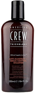 Antischuppen + Sebum Control Shampoo - American Crew Anti Dandruff+Sebum Control Shampoo — Bild N1