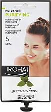 Düfte, Parfümerie und Kosmetik Gesichtsmaske - Iroha Nature Green Tea Purifying Peel-Off Mask